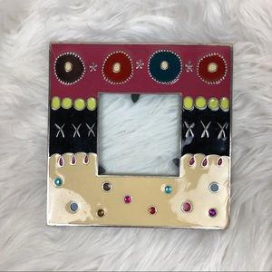 Small Metal Colorful Picture Frame Cute Fun
